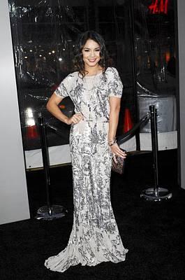 Vanessa Hudgens Wearing A Dress Art Print by Everett