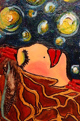 Painting - Vangogh Dreams Cropped Version by Laura  Grisham