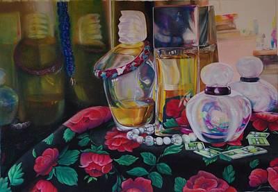 Vanities Art Print by Loueen Morrison