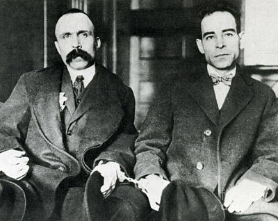 Accused Photograph - Vanzetti And Sacco by Science Source