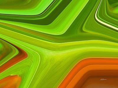 Digital Art - Variation On A Leaf by Greg Reed Brown