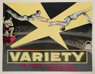 Variete Aka Variety, Aka Jealousy, Lya Art Print by Everett