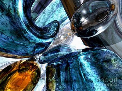 Reason Digital Art - Various Reasons Abstract by Alexander Butler