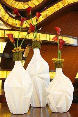 Photograph - Vase Beauties by Sharon I Williams