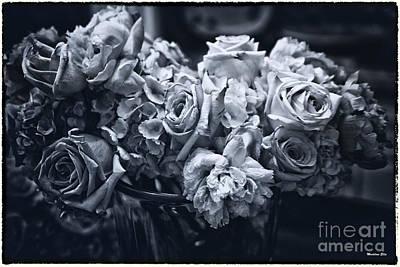 Vase Of Flowers 2 Art Print by Madeline Ellis