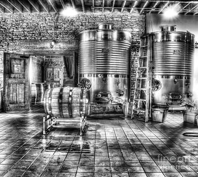 Wine Barrel Photograph - Vat To Barrel by Jimmy Ostgard