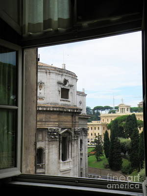 Italy Photograph - Vatican Window by Tanya  Searcy