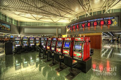 Photograph - Vegas Airport 2.0 by Yhun Suarez