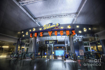 Photograph - Vegas Airport by Yhun Suarez