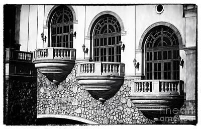 Vegas Balconies Art Print by John Rizzuto