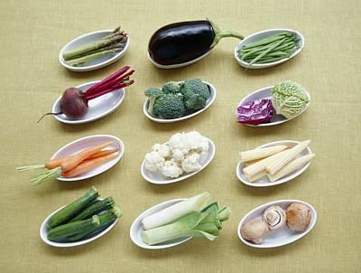 Vegetables Art Print by Veronique Leplat