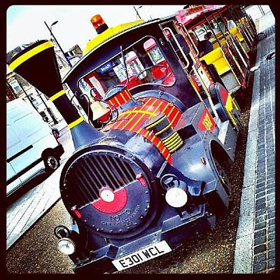 Norfolk Photograph - Vehicles - Road Train #tourist #train by Invisible Man