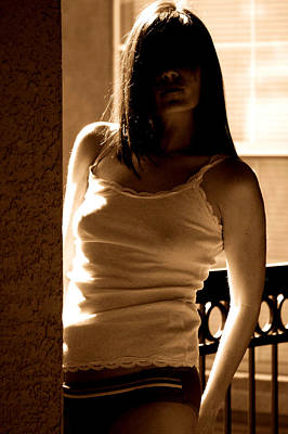 Photograph - Veil by Elizabeth Hart