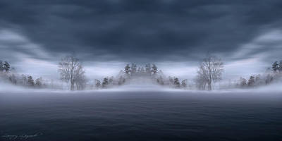 Photograph - Veil Of Mist by Lourry Legarde