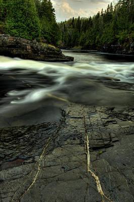 Current River Photograph - Veins II by Jakub Sisak