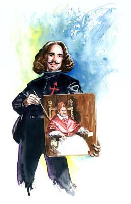 Spaniards Painting - Velasquez by Ken Meyer jr