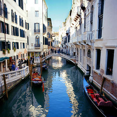 Photograph - Venetian Canal by Paul Cowan