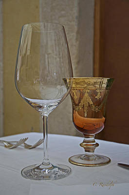 Photograph - Venetian Glass by Cheri Randolph