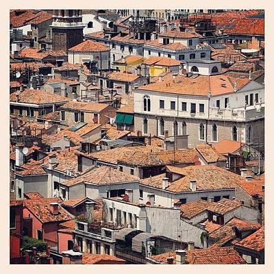 Still Life Photograph - Venetian Rooftops by Chi ha paura del buio NextSolarStorm Project