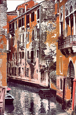 Venetian Serenity Art Print by Greg Sharpe