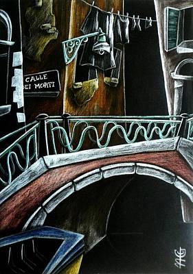 Night Lamp Painting - Venezia Vexia by Arte Venezia