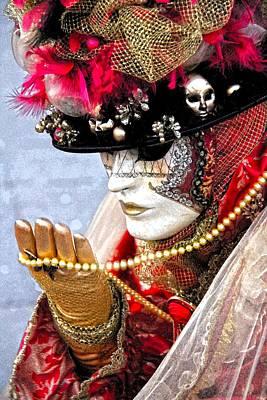 Carneval Photograph - Veneziana 012 by Per Lidvall