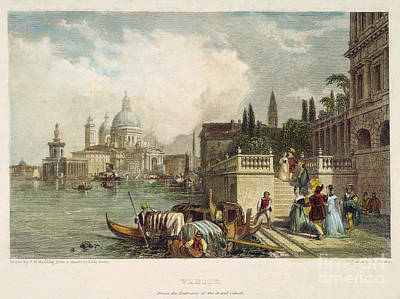 1833 Photograph - Venice, 1833 by Granger