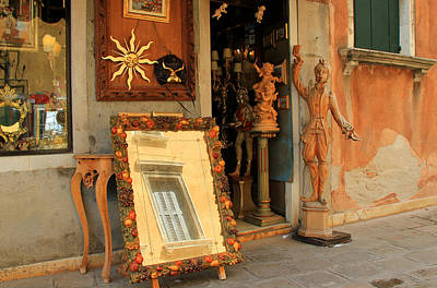 Photograph - Venice Antique Shop by Andrew Fare