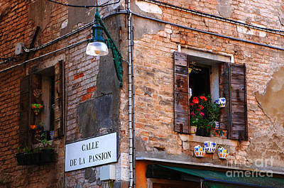 Calle De La Passion Art Print by Bob Christopher