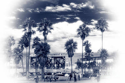 Photograph - Venice Beach Haze by John Rizzuto