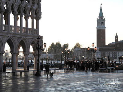 Venice Art Print by Bernard Jaubert