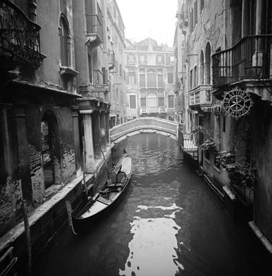 Art Print featuring the photograph Venice Canal by Emanuel Tanjala