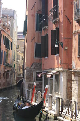 Photograph - Venice Canal by Mary-Lee Sanders