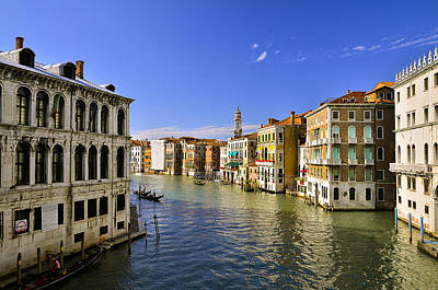 Venice Canale Grande Art Print by Travel Images Worldwide
