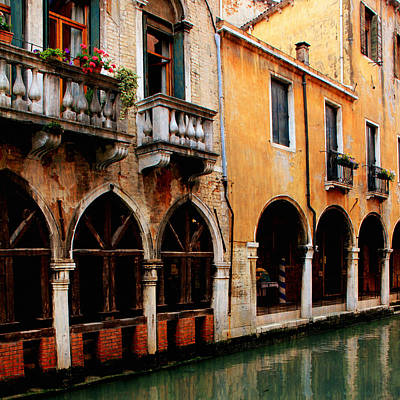 Photograph - Venice Canals 1 by Andrew Fare