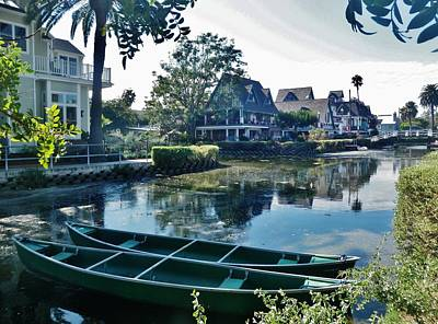 Photograph - Venice Canals  by Daniele Smith