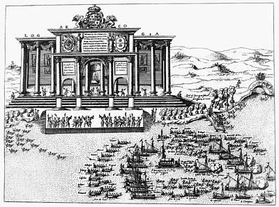 Venice: Ceremony, 1574 Art Print