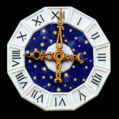 Photograph - Venice Clock by Andrew Fare