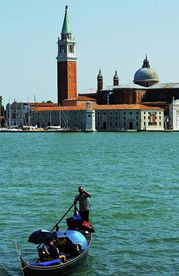 Venice Gandola Art Print