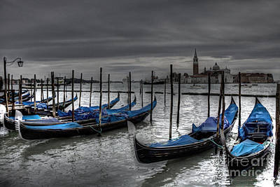 Photograph - Venice Gondolas  by Crystal Nederman