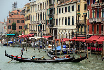 Photograph - Venice Grand Canal 2 by Andrew Fare