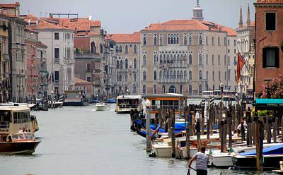 Lamborghini Cars - Venice Grand Canal 3 by Andrew Fare