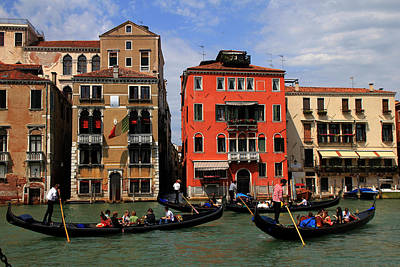 Photograph - Venice Grand Canal 4 by Andrew Fare