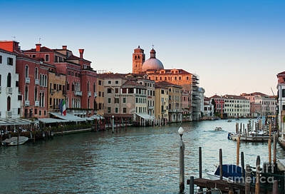 Photograph - Venice Grand Canal by Andrew  Michael