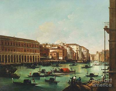 Venice Grand Canal Art Print by Pg Reproductions