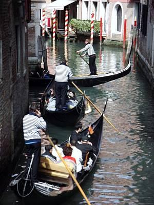 Venice Gridlock Art Print