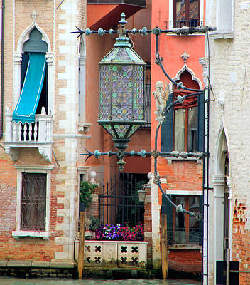 Photograph - Venice Lamp by Andrew Fare