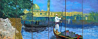 Venice Of The Middle East Art Print by Unknown - Local Iraqi National