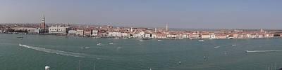 Photograph - Venice Panorama  by Keith Stokes