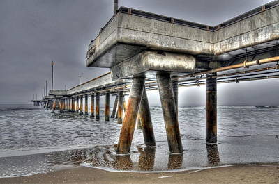 Venice Beach Photograph - Venice Pier Industrial 2 by Richard Omura
